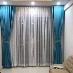 màn rèm cửa chống nắng tuyệt đối 2 lớp
