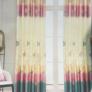 rèm vải hoa văn