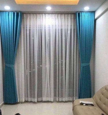 màn rèm vải 2 lớp