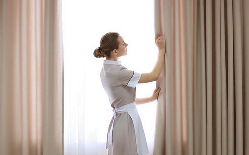 lưu ý khi giặt rèm cửa